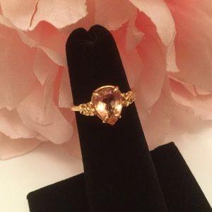 Jewelry - 🌸Truely Beautiful Peach Tourmaline Ring 🌸